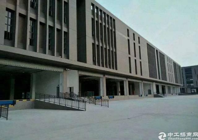 深圳平湖华南城边富民工业区原房东带卸货平台物流仓库出租