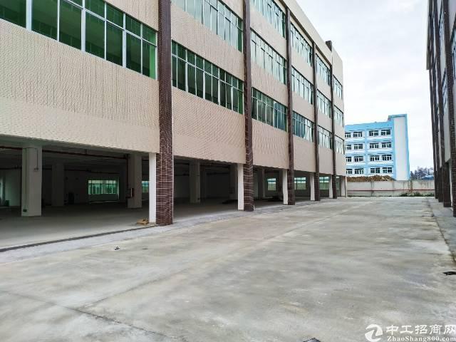 博罗罗阳镇新出独门独院标准厂房100000平方出租,