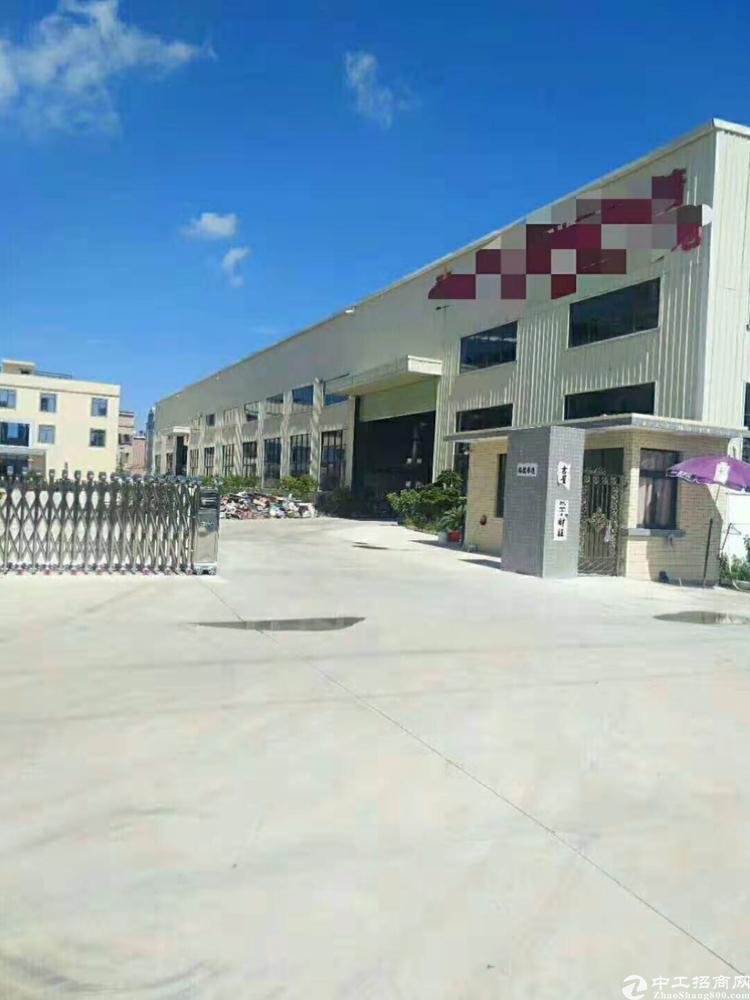 惠阳区沙田高速入口旁原房东独院钢构10200平方滴水12米