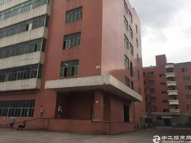 西乡黄田工业区3楼2600平厂房出租