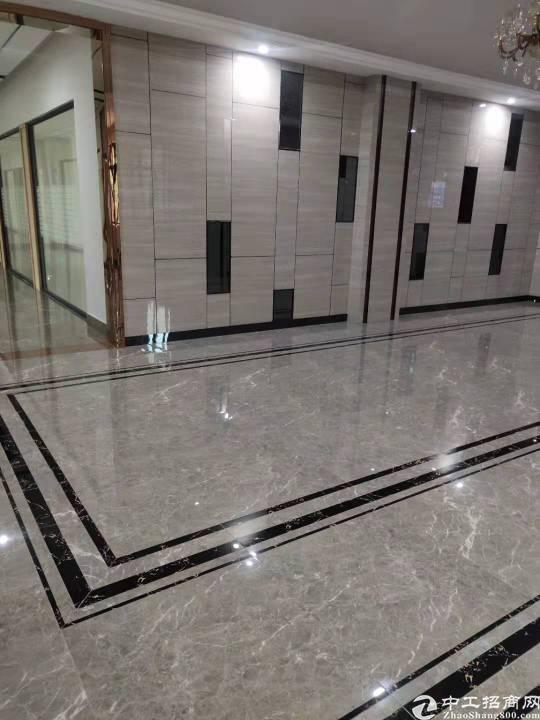 横岗荷坳地铁站600平精装修办公室出租