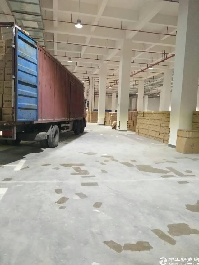 黄埔开发区东区8米高一楼20000平米全新厂房火爆招租可分租