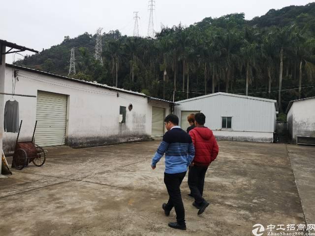 凤岗天堂围2000平米单一层原房东独院厂房出租