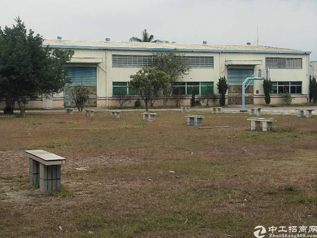 惠州市博罗县龙华镇新出大型工业园区分租一栋2500平单一层厂