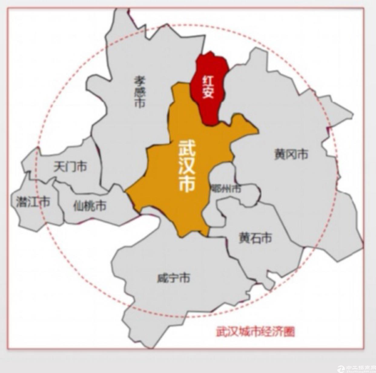 红安开发区钢构产业园,2千平方米独栋招商出售