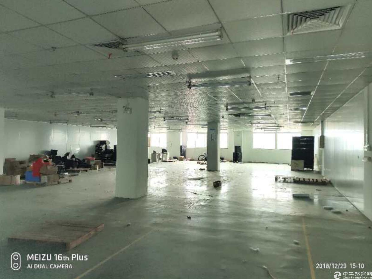 石岩高薪产业园新出一整栋12500平方米出租