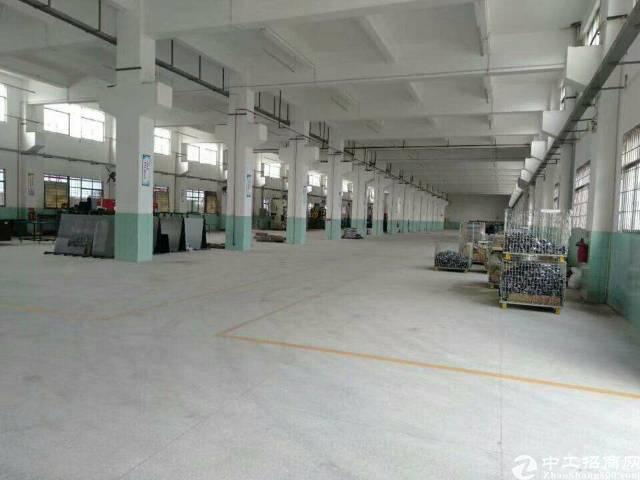 惠州市区附近工业园一楼厂房招租