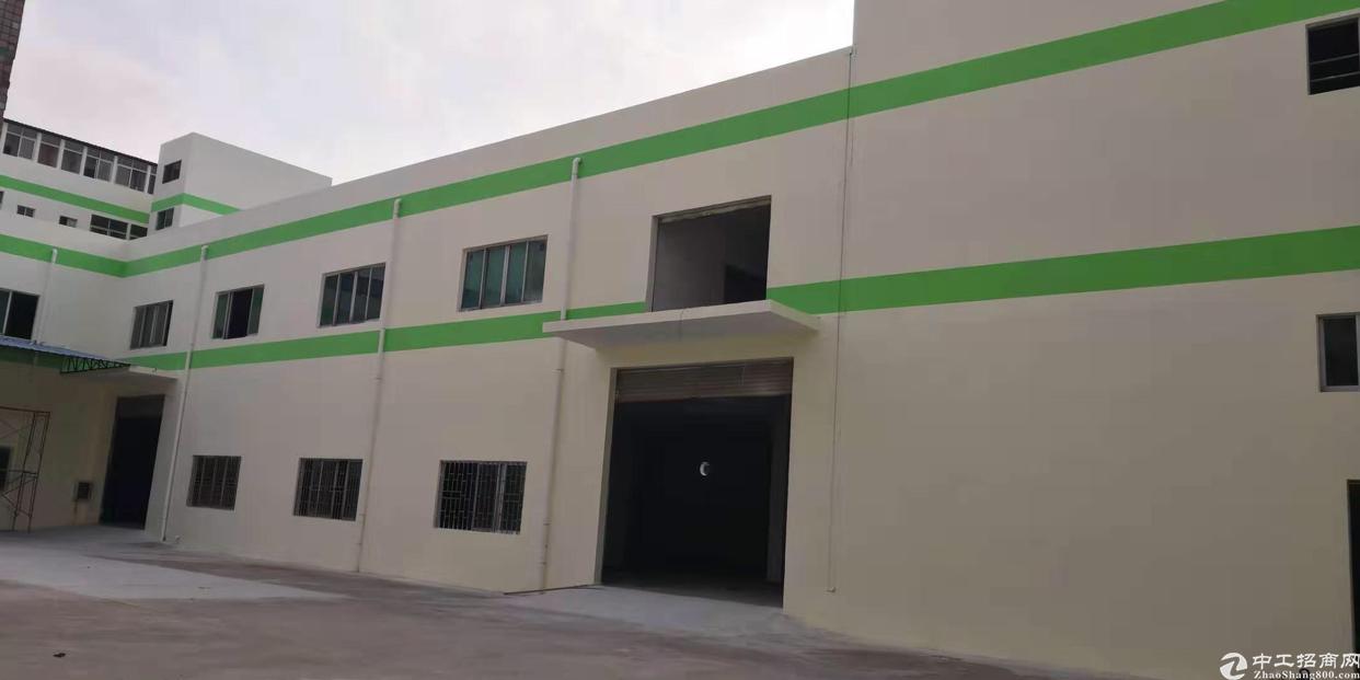 全新两层重工业厂房出租,外墙,内壁都是房东自己装修,现成办公