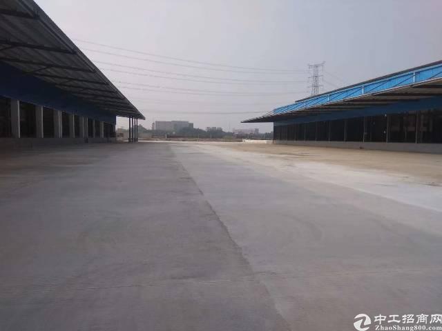 虎门沿江高速出口高台仓物流场地占地6万平方建筑3万平方