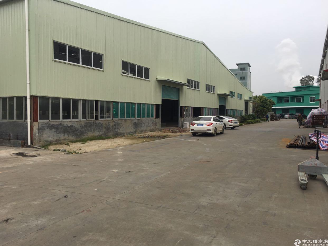 朗厦工业区新出独栋单一层钢构厂房6300平方滴水7.5米