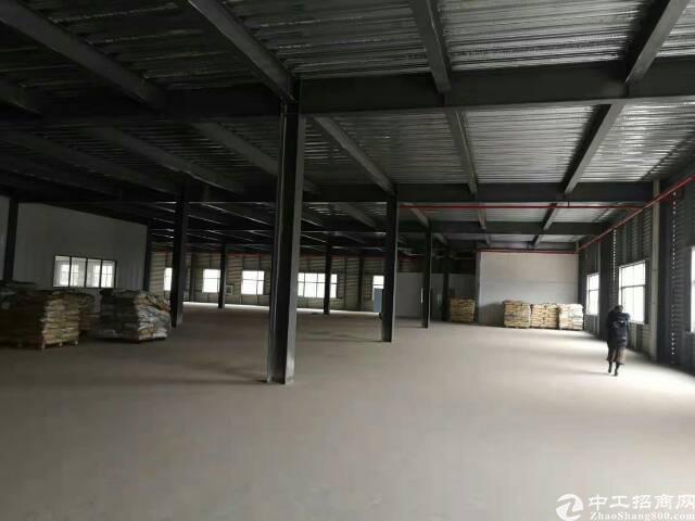 江夏金口仓储物流园2000平米钢结构厂房,配套办公宿舍食堂