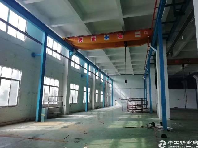 虎门镇新出原房东标准厂房出租一楼2300平方现成两台行车
