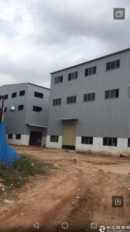 仲恺沥林占地1万建筑7000钢结构厂房出售