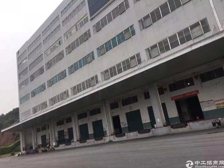 黄埔LG总部附近10000平标准物流仓库,可以分租,空地超大