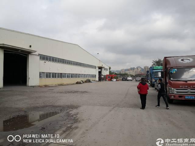 南光高速口钢构7200㎡适合物流仓储可分租