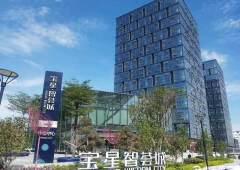 (出租)宝安中心区物业直租432平南北落地窗精装办公室出租