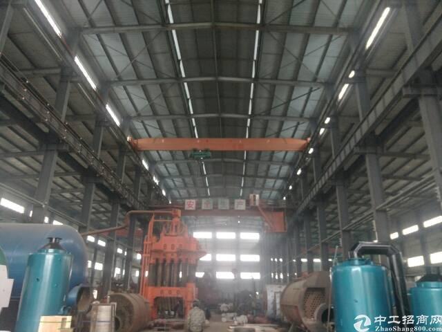 蔡甸地铁口钢结构厂房1700平米整租,独门独院,配套全。