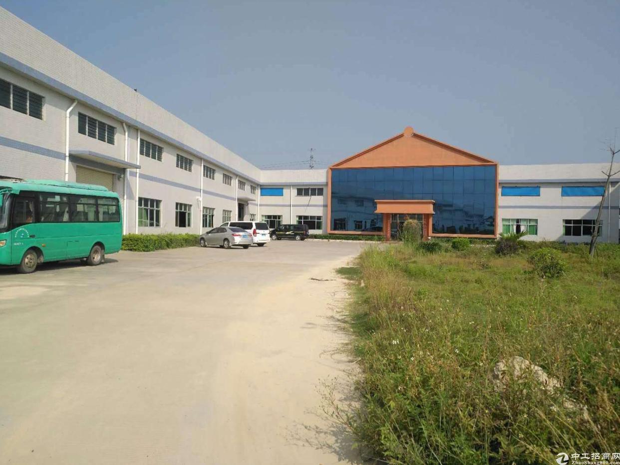 江高私企工业区单一层独院厂房仓库出租、空地大
