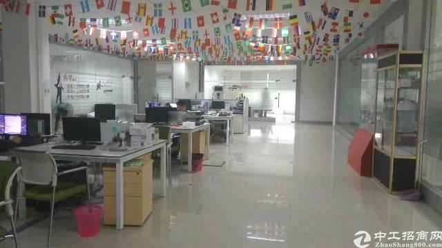 西乡固戍地铁口300米精装修现成办公室1000平
