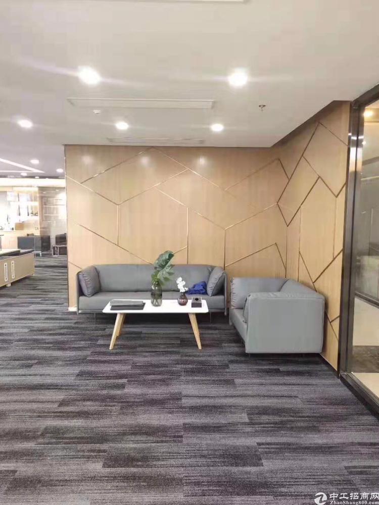 西乡银田创意园精装带隔间办公室出租