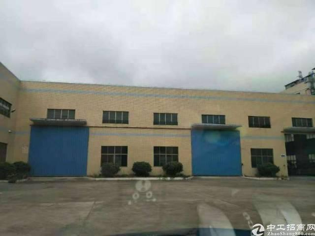 惠州原房东独院钢构厂房4250平米,空地大