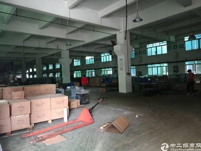 人和镇东华工业园标准厂房招租,可分租,可办环评