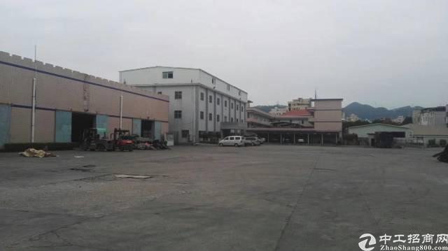 惠阳新圩镇现空出8080平方钢构厂房 滴水9米高 带现成行车