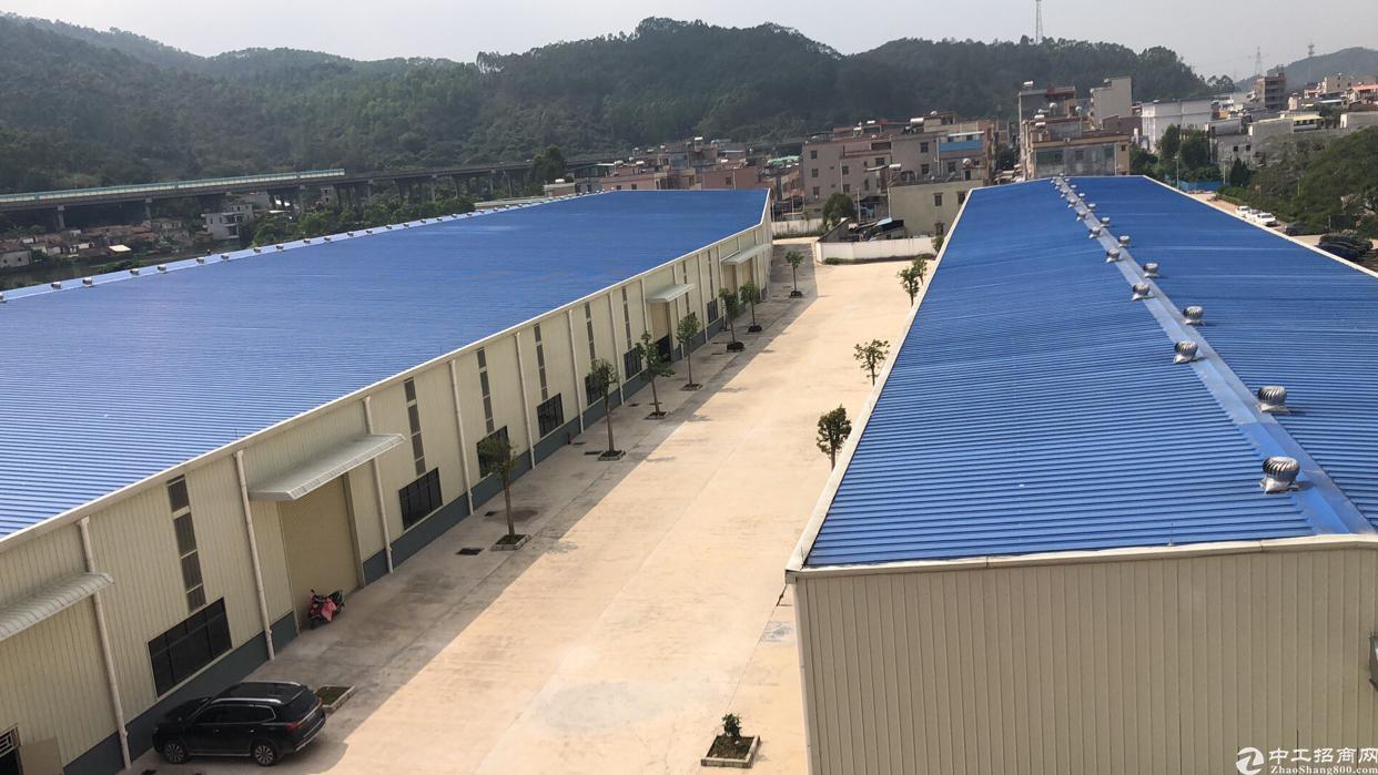 惠州市新出钢结构厂房28800平方出租