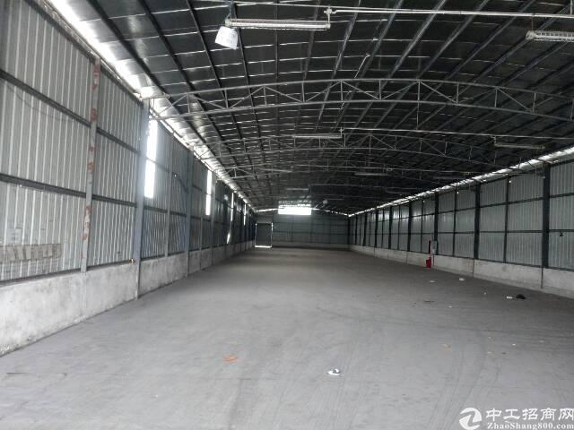 番禺石楼靠近坑头工业区附近一楼简易厂房5000平,可分租有证-图7