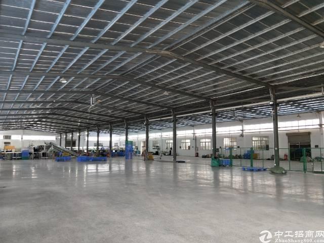 清溪镇高速路口5900平单一层独院厂房滴水8米