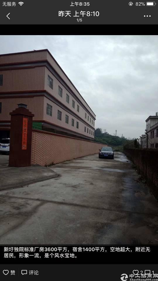 主干道边独院标准厂房3100平米出租