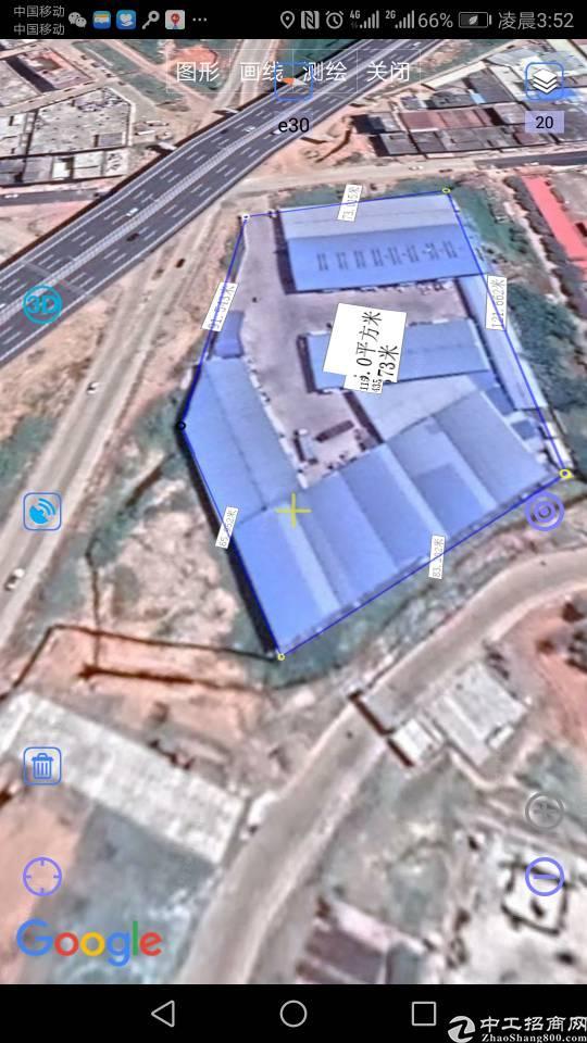 惠州九潭占地8千建筑7千钢结构厂房五百万