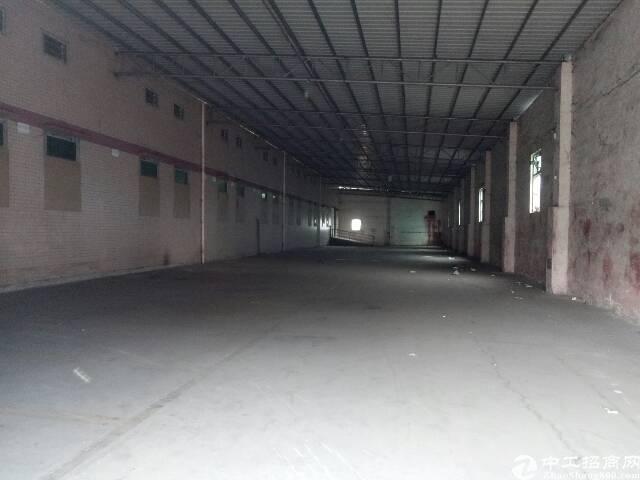 番禺石楼靠近坑头工业区附近一楼简易厂房5000平,可分租有证-图8