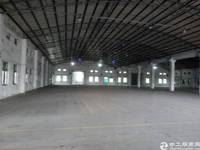 番禺石楼靠近坑头工业区附近一楼简易厂房5000平,可分租有证-图4