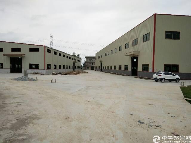 惠城区形象漂亮9000全新钢构厂房出售