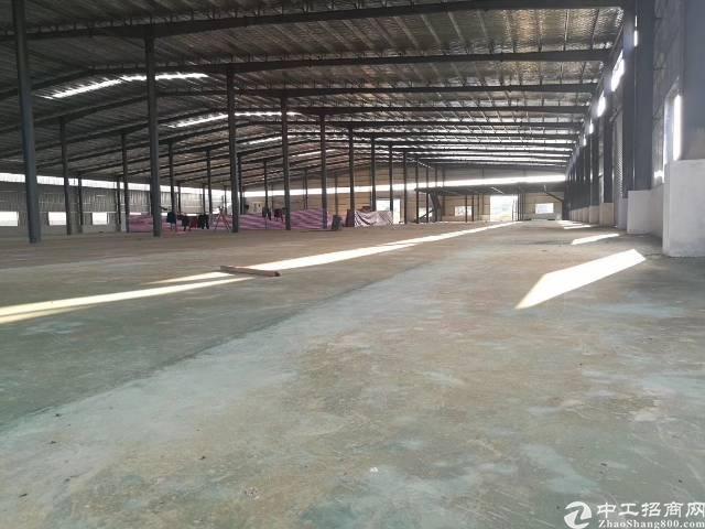 惠州市水口镇高新区高速附近一楼3600方刚够厂房急租