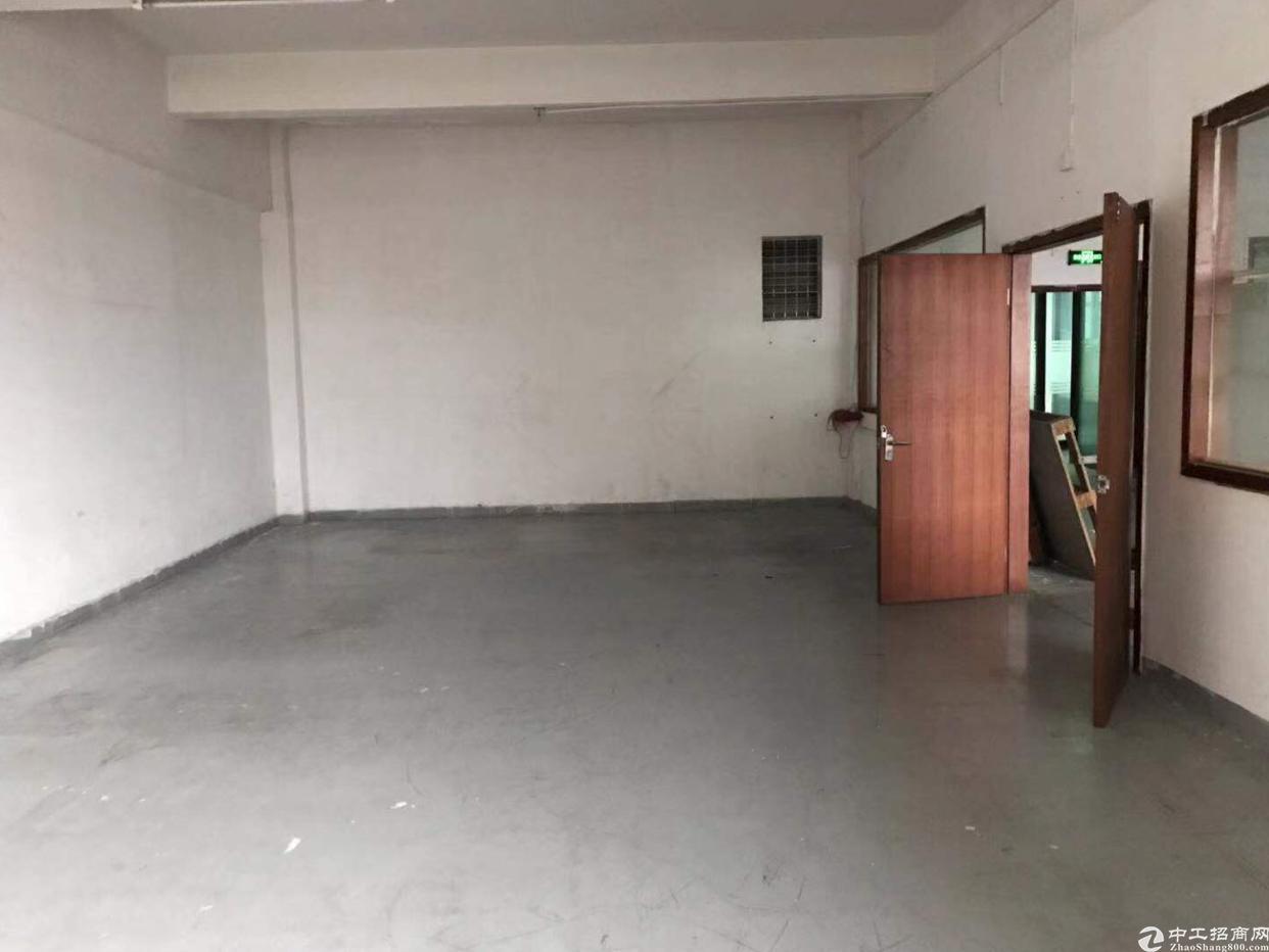 黄埔东区广园快速路口标准厂房82平招租,可做生产、仓库