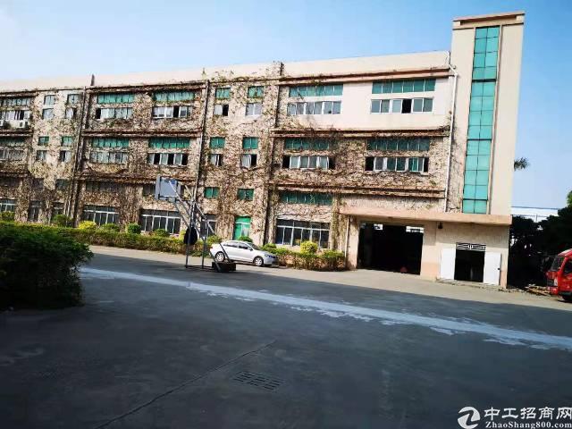 沙井原房东独院1-3层6700平厂房出租