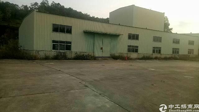惠州三栋独院钢构厂房1000平方滴水8米招租