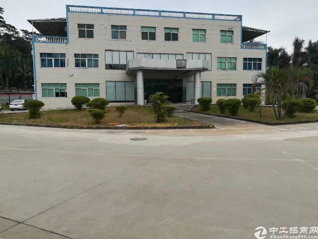 大亚湾镇靠深圳独院钢构28000平米现成物流仓库招租