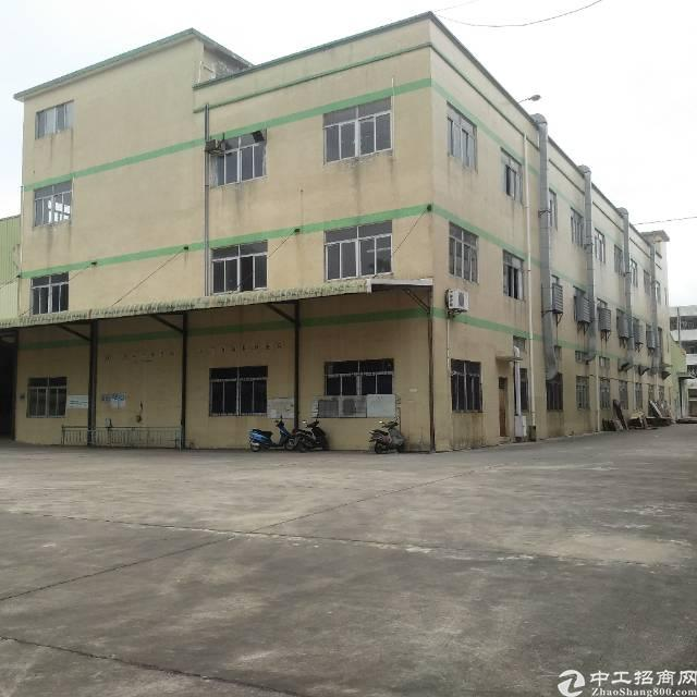 谢岗镇新出独门独院厂房,单一层10000万平方,空地超大