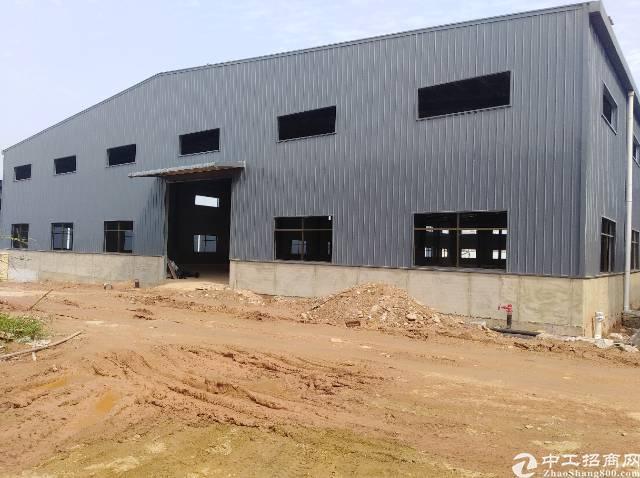 水口新出单一层3000平米钢构厂房出租