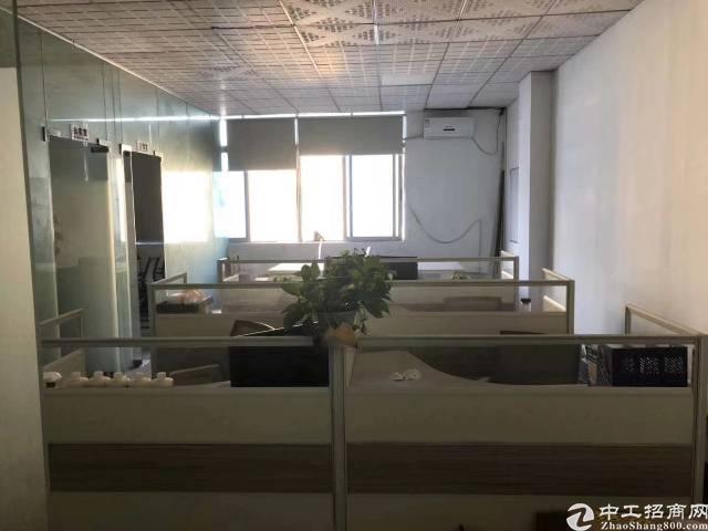 福永地铁口精装实际面积90平出租带隔间可做仓储办公贸易
