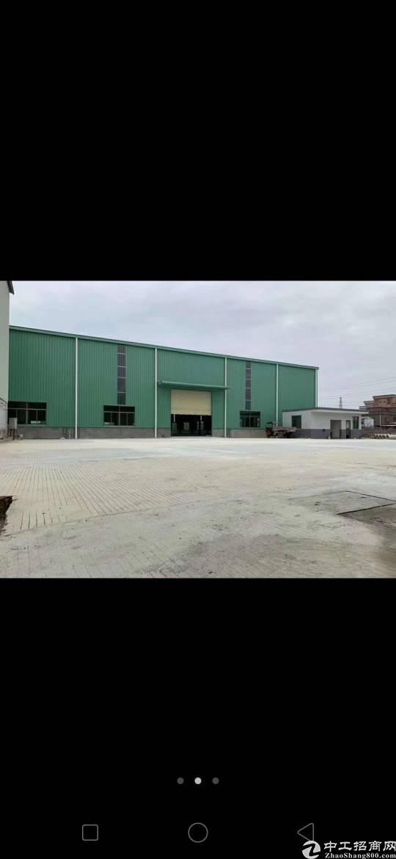 大岭山独院钢构厂房,每栋4000平方出租。
