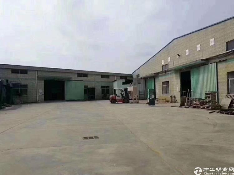 惠州市惠阳区新出原房东12,000平现成家具厂房出租。