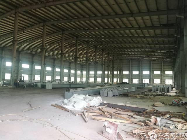 惠州新出原房东独院钢构厂房15000平米滴水十二米独院厂房