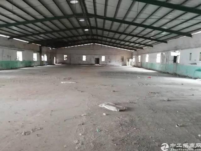 增城区增江街道超实惠单一层铁皮厂房,黄金地段