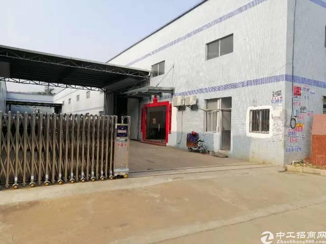 惠阳新圩带行车钢构厂房2800平米出租。