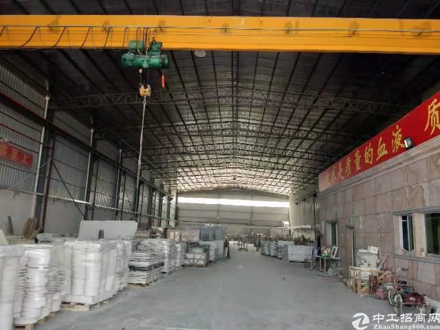 黄江镇带现成航车2100平方中间无柱子带办公室装修