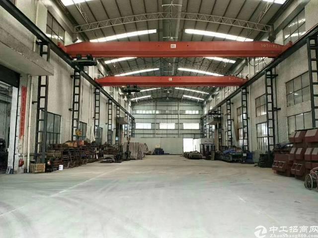 广州市国有双证荔湾区带行车厂房出售